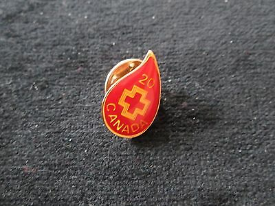 Red Cross  ( Blood Donor 20 )    Pin