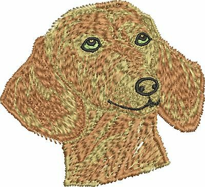 Dog - Dachsund Embroidered & Personalised Hoodie