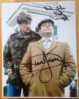 Only Fools And Horses Photo Signed By David Jason & Nicholas Lyndhurst