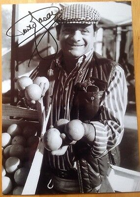Only Fools And Horses Photo Signed By David Jason With Letter Of Guarantee