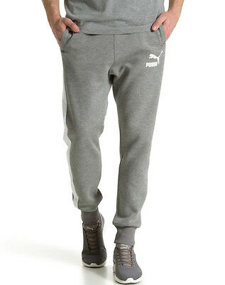 Puma T7 Mens Track Pants - Grey