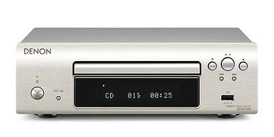 Denon DCDF109 Compact Disc CD Player DCD-F109 - Designed to go with DF109 Silver