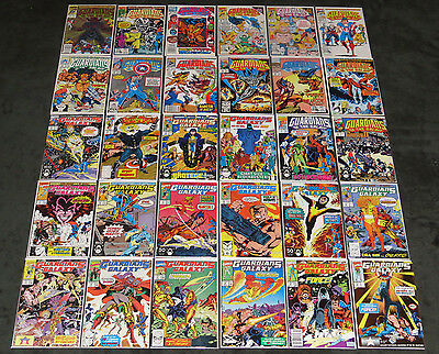 Guardians Of The Galaxy # 1 - 62 + Annuals (Vf) 65 Marvel Comics Complete Series