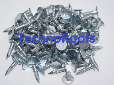 Galvanized Roof Shed Felt Clout Head Nails 15mm