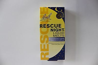 Bach Rescue Night Liquid Melts - 28 Capsules
