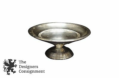 Vintage International Weighted Sterling Silver Compote Footed Bowl Candy Dish