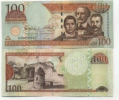 République Dominicaine - Dominican Republic billet neuf  100 pesos pick 171 UNC