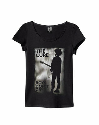 Amplified The Cure Boys Don't Cry Women's Black T-Shirt