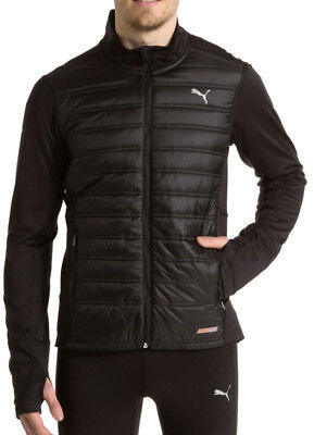 Puma PowerWarm Mens Running Jacket - Black