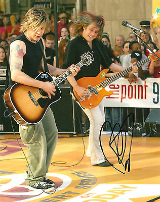 ROBBIE TAKAC SIGNED 8x10 PHOTO PROOF COA AUTOGRAPHED GOO GOO DOLLS 2