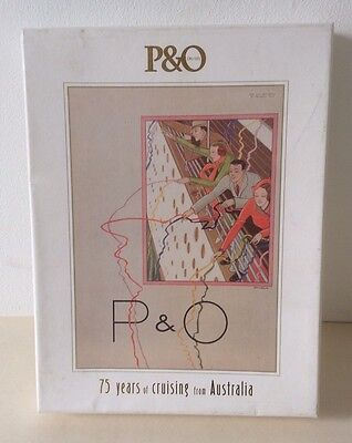 P & O 75 Years of Cruising from Australian Boxed Set of 12 Different Note Cards