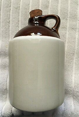 Whiskey jug stoneware pint size no alcohol in it!