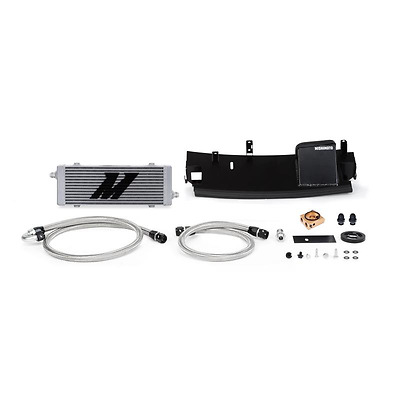 Mishimoto 2016 2017 Ford Focus Rs 2.3L Turbo Thermostatic Oil Cooler Kit Silver