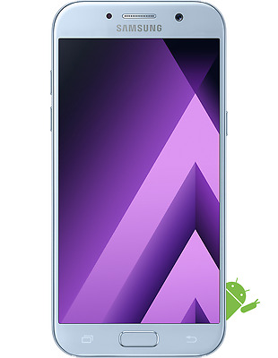 New Samsung Galaxy A5 2017 Edition SM-A520F Blue LTE 32GB 4G Factory Unlocked