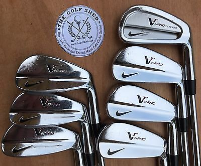NIKE VR PRO BLADES Irons 4 - PW -DYNAMIC GOLD X100  SHAFTS - 1 INCH LONGER