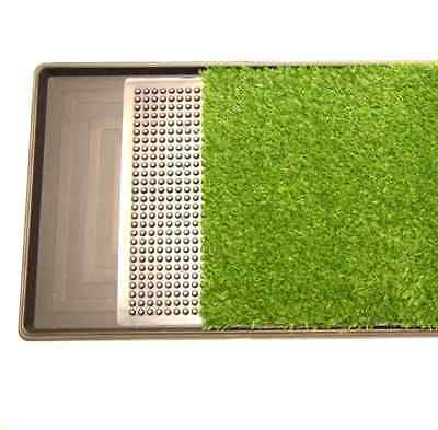 Pet Potty Three Layer Dog Toilet Training Pad Park Patch Mat Indoor Outdoor Larg