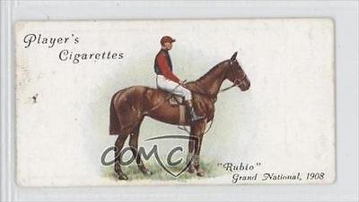 1933 Player's Derby and Grand National Winners Tobacco Base #27 Rubio Card 0a1