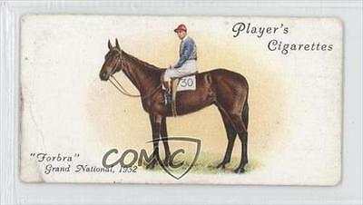 1933 Player's Derby and Grand National Winners Tobacco Base #50 Frobra Card 0a1