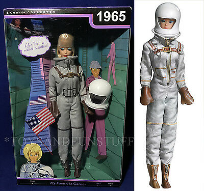 NEW - 1965 BARBIE MISS ASTRONAUT 2009 My Favorite Career CLASSIC LOOK Collector