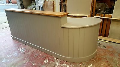 reception desk counter/dentist/doctors/made to measure/painted any colour