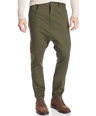 UO Urban Outfitters Publish Brand Dropstack Tapered Moss Tosh Pants Mens 30W NWT