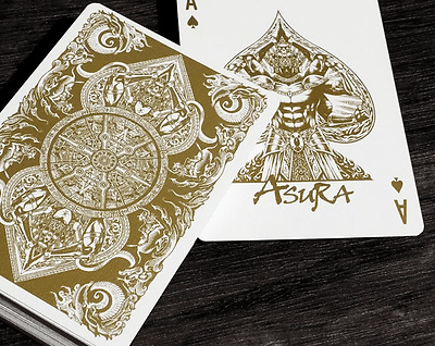 Bicycle Asura Playing Cards: Gold Edition