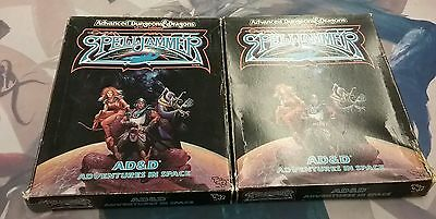 Advanced Dungeons and Dragons 2nd Edition Spelljammer Game Lot of 2