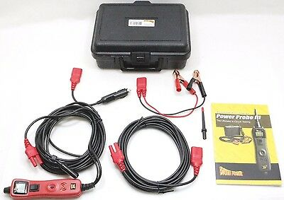 Power Probe III PP319FTCRED Electrical Fault Circuit Tester Finder Voltmeter