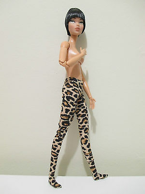 THE VOGUE leopard print tights FOR barbie integrity doll fashion royalty