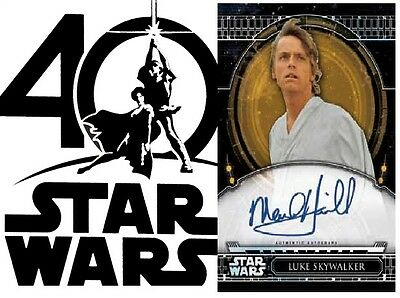 2017 Topps Star Wars 40th Anniversary Box *PRE ORDER by 3/26/2017*