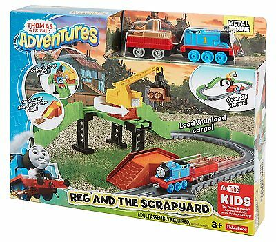 Fisher Price- Thomas & Friends Adventures Reg at The Scrapyard - New