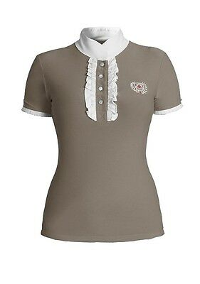 Riding competition blouse/Competition shirt Fairplay Charlotte with Rhinestone