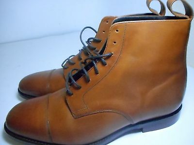 Loake Stratford Brown Calf Boot 8 F - New Slight Seconds RRP £210 (2025)