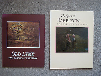 Two French American Barbizon Exhibition Catalogs, 1982, 1986-88