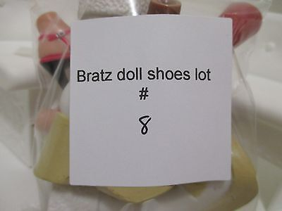 bratz doll girls shoes boots for 10 inch lot #8