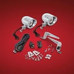 Victory Cross Country Magnum Show Chrome Mini Halogen Driving Light Kit 30-102