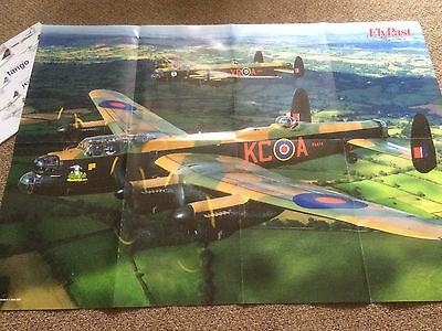 Lancaster Aircraft Picture Flypast