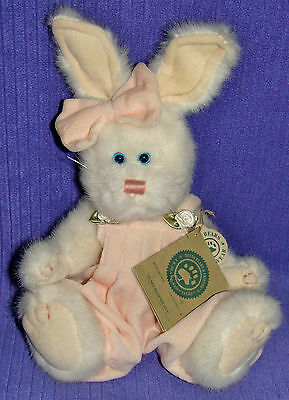 "Boyds Pansy Rosebunny 91652 Handmade Retired 1999 With All Tags 10"" Tall ~Bn"