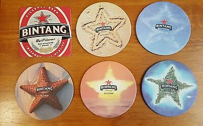 Bar Coasters x 6, Bintang Bali beer for you Bar  or Mancave
