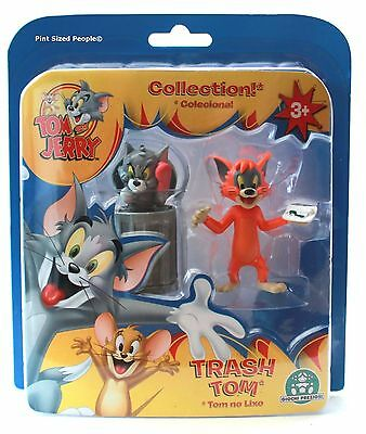 Tom and Jerry Classic Chaos Collection Action Figures - TRASH TOM