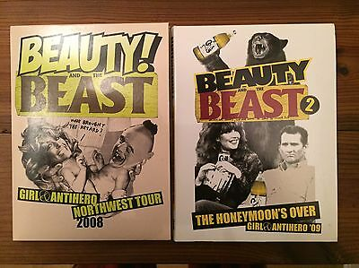 Girl x Antihero - Beauty And The Beast 1&2 Skateboard DVD's