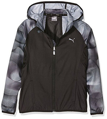 Puma Active Dry Windbreaker Junior Running Jacket - Black