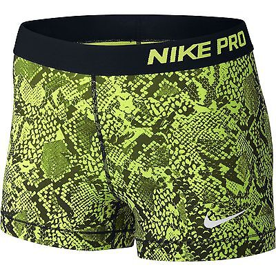 New Nike Pro Womens Ladies Running Lycra Shorts Size Small S