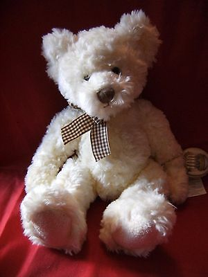 """Russ Berrie & Co 100th Anniversary Collection 13"""" """" Buckingham""""  Bear with tags"""