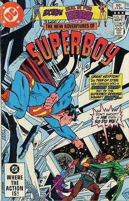 New Adventures of Superboy #33 in Near Mint - condition. FREE bag/board