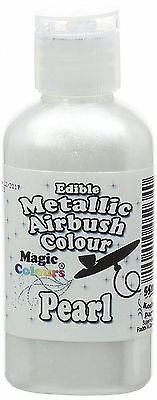 Metallic Edible Airbrush Pearl Baking Supplies Food Colouring Cake Decoration