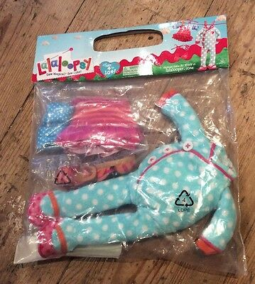 Lalaloopsy Outfit Clothes Bedtime & Beach New in Pack