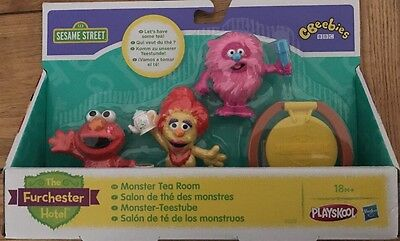 The Furchester Hotel Monster Tea Room Playset Figures New Gift