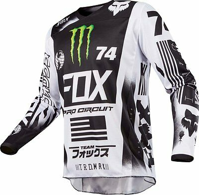 Fox Racing Mens Special Edition 180 Monster Pro Circuit MX Motocross Jersey
