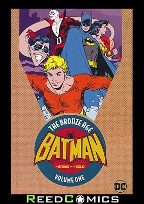 BATMAN BRAVE AND THE BOLD BRONZE AGE OMNIBUS VOLUME 1 GRAPHIC NOVEL (456 Pages)